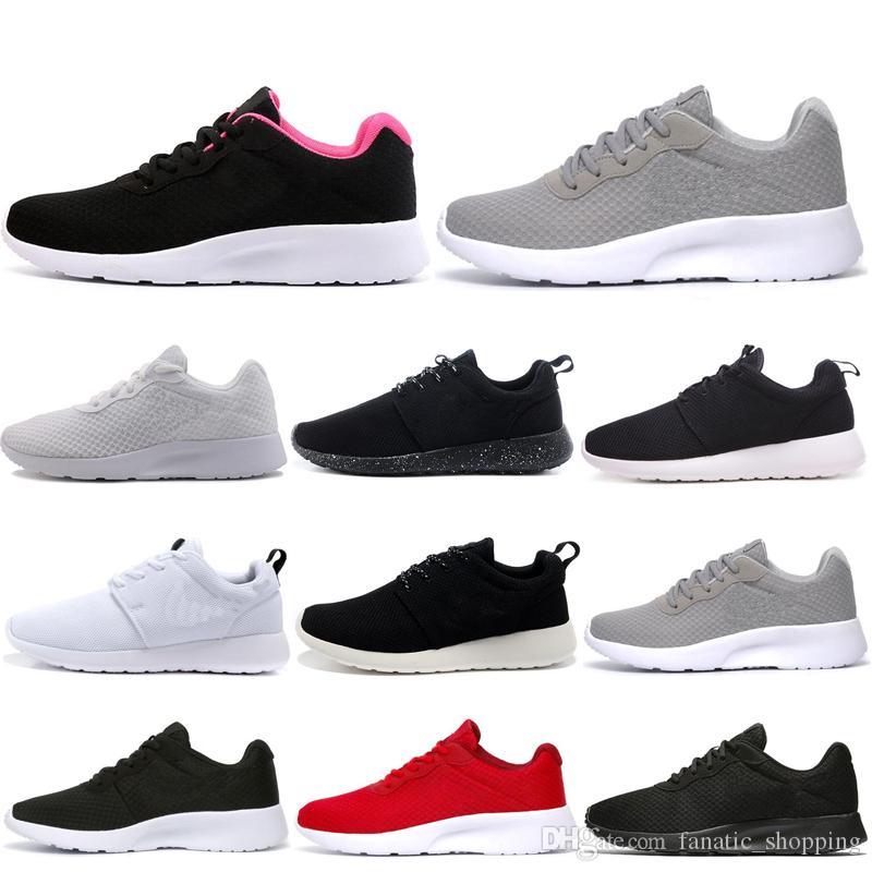حذاء الجري Tanjun Run للرجال النساء Triple White Black Olympic London Outdoor Mens Trainer Sports Sports Sneakers 36-45 Discount