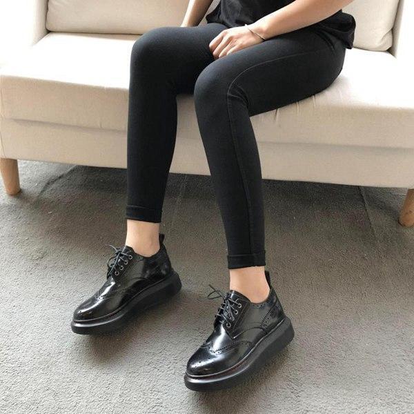 2019 ACE Marke besten chaussures McAlexander scarpe McQueens crocss Schuhe Frauen (mit ursprünglichem Kasten) Größe 36-40 Lolita Stiefel # c2be