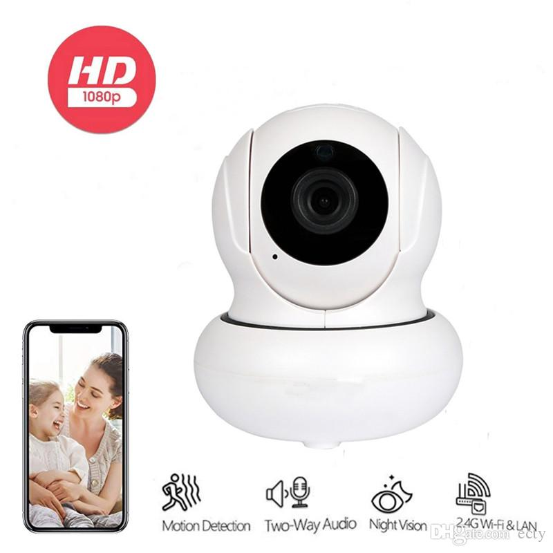 4X Zoomable IP Camera 1080P Auto Tracking Surveillance Cameras Home Security Camera Wireless Network WiFi PTZ CCTV Camera