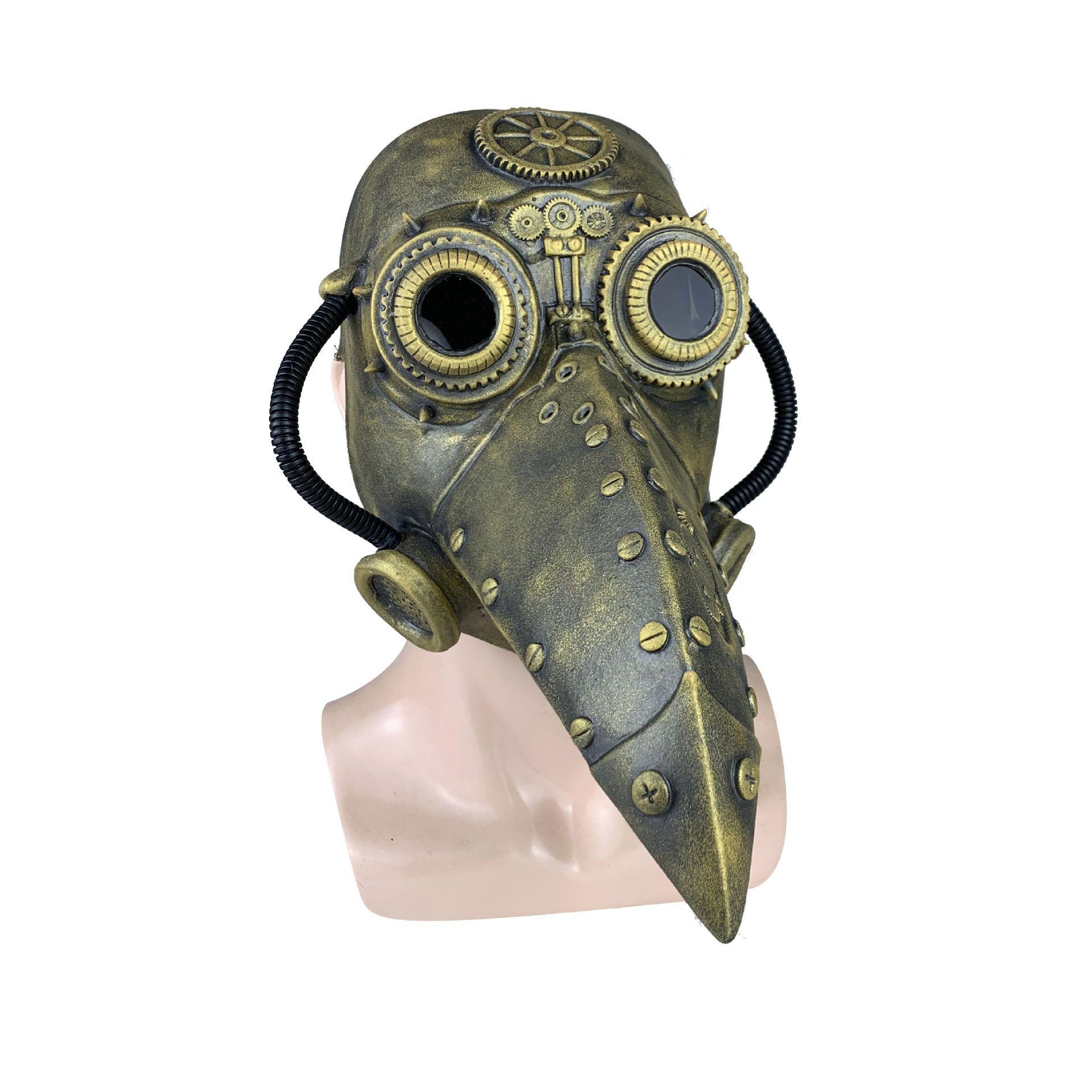 Doutor do praga Birds máscara de Halloween Cosplay Carnaval Costume Mascarillas Partido Props Máscara Máscaras Masquerade Halloween Máscara T200116