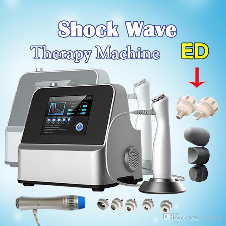 Bestseller Portable Shockwave Therapy Machine für Hochdruck bis 6 bar Druckstoßwellen-Physiotherapiemaschine