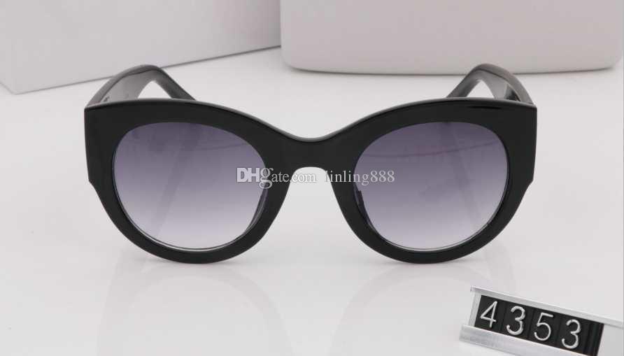 14af68a6801d ... Summer style italy brand medusa sunglasses VE4353 women men brand  designer uv protection sun glasses clear
