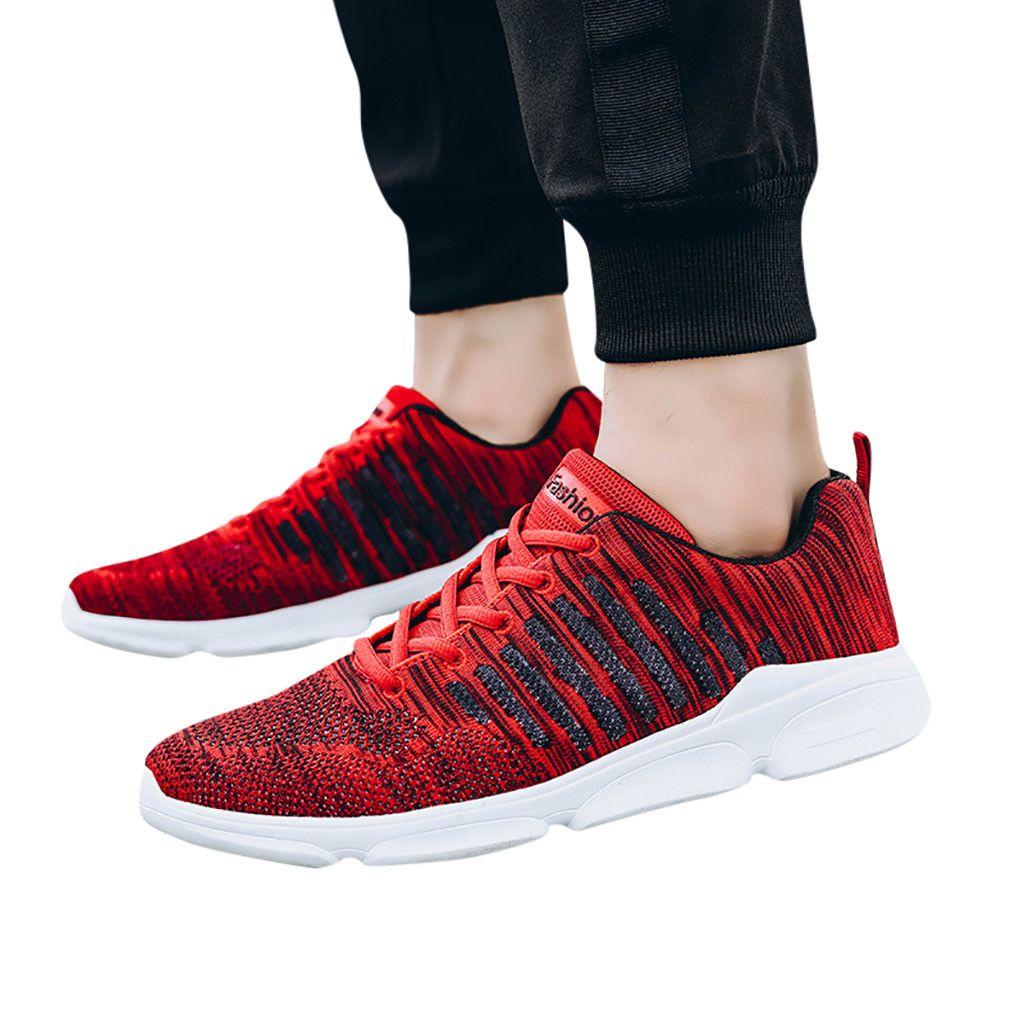 SAGACE кроссовки мужские большой размер тканые нескользящие дышащие платформы спортивная тенденция Дикий износостойкие повседневные кроссовки X0103