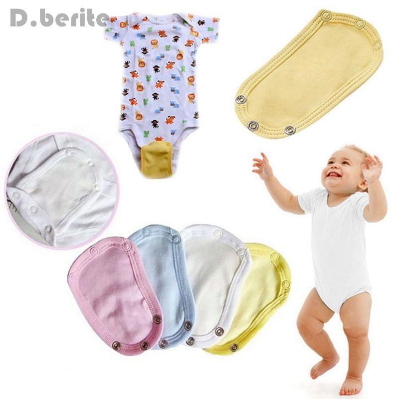 5 pc del commercio all'ingrosso del ragazzo della ragazza pratica confezione Fart vestiti più lungo di estensione pezzo del pannolino del bambino per il cambiamento facile Infant Nuovo