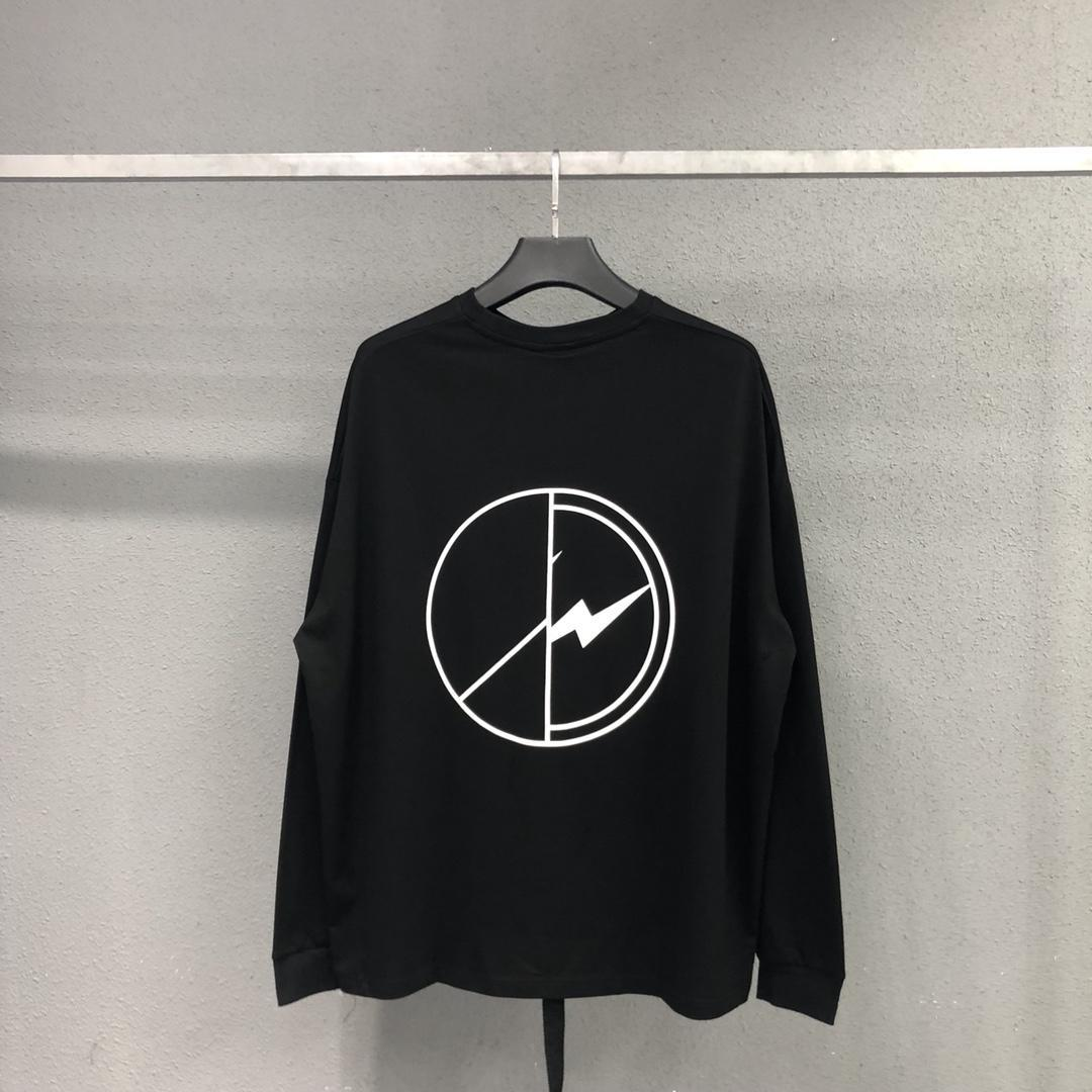 Peaceminusone Langarm-T-Shirt Männer Frauen Maxi-FRAGMENT DESIGN G-Dragon beste Qualität Sommer Peaceminusone Langarm