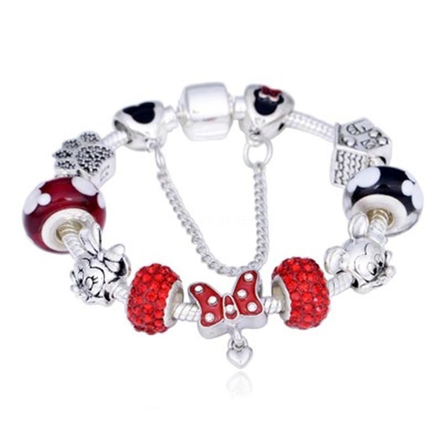 أزياء المرأة مجوهرات اليدويه الطراز الأوروبي لاكي 8 الكرة المعدنية الخرزة منزوع سحر سوار قلادة يناسب باندورا # 126