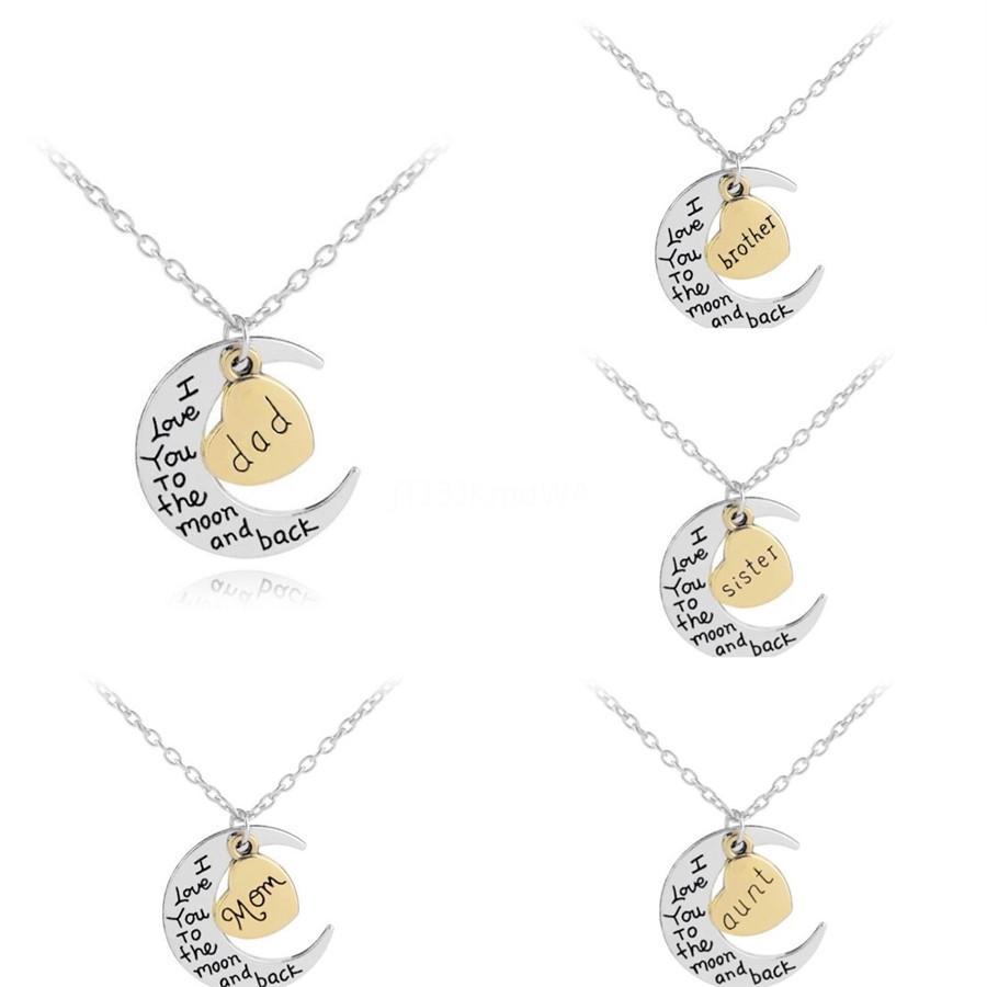 18K altın kaplama Harf Tanrı Aile Para kolye kolye buzlu Out Zirkon ile Paslanmaz Çelik Halat Zincir # 907