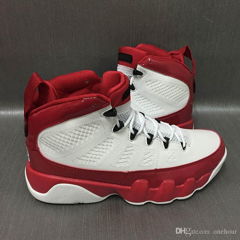 CLASSIC 9 Chaussures Hommes Noirs Blancs blancs 302370-160 Bonne qualité Chaussures de basket Baskets Sports Sports avec boîte
