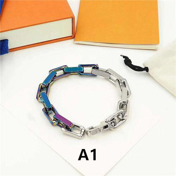 Hot Sale unissex pulseiras pulseira para o Homem Mulheres Jóias ajustável Cadeia Pulseira Bijuterias 5 Modelo Opcional