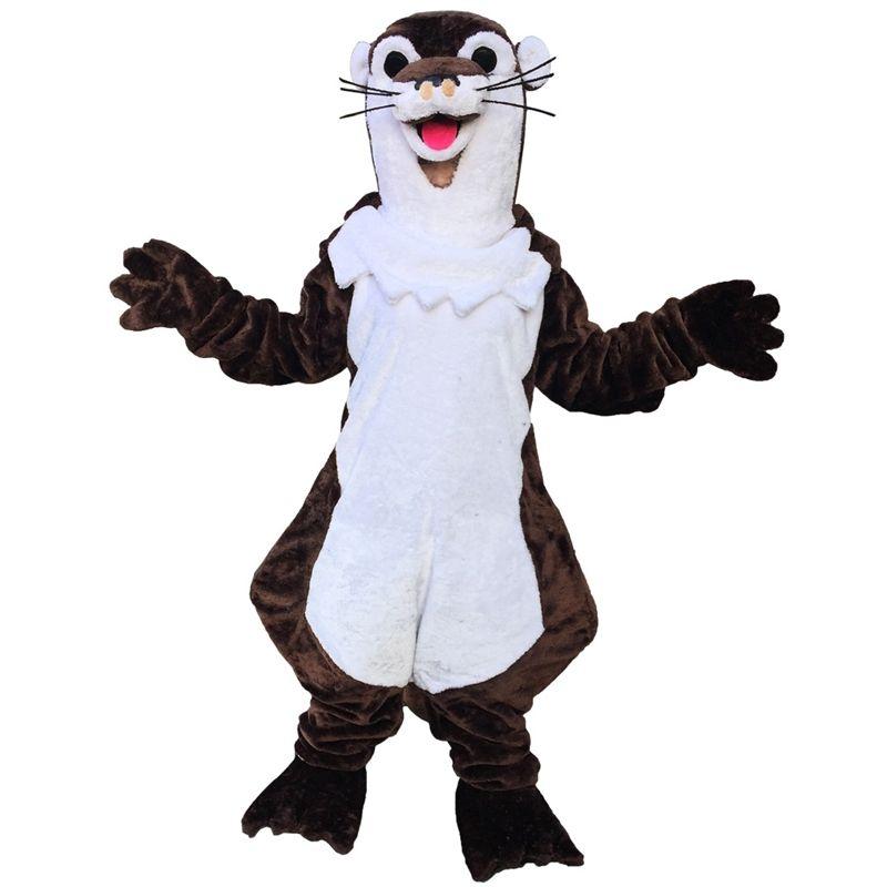 Raccoon del costume della mascotte dei cartoni animati di formato adulto Longteng (TM) 02