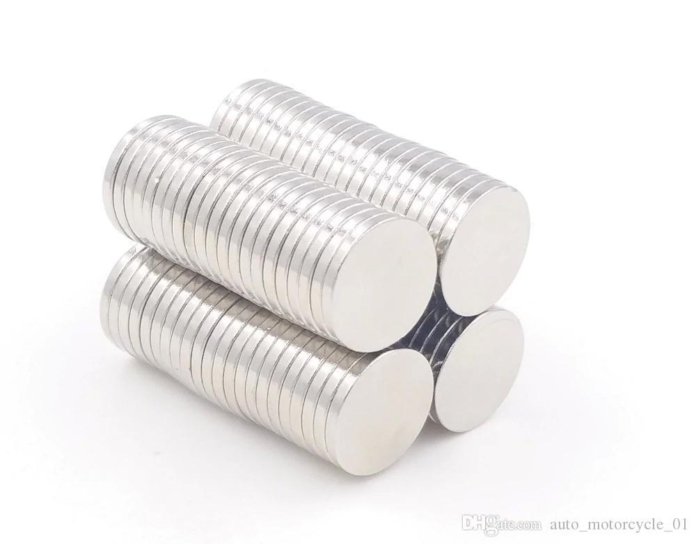 Hot vente Super Strong Round disque Cylindre 12 x 1,5 mm aimants Néodyme Rare Earth Livraison gratuite 1000pcs 001