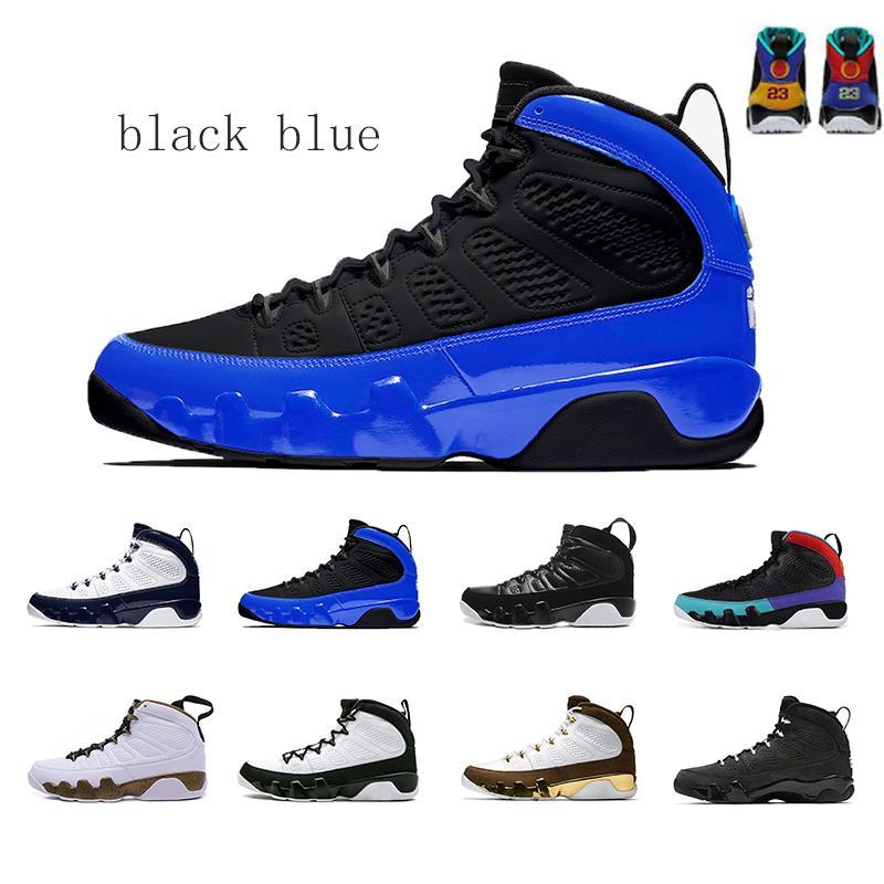 TURUNÇGİL 9 9s siyah, mavi Rüya It Do It UNC Bred Space Jam Erkek Basketbol ayakkabı erkekler Üçlü Yılan derisi Spirit Antrasit Sneakers 7-13 Yeni