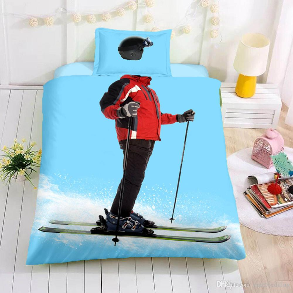 Popular Children Duvet Cover Set King Twin Queen Size Cartoon Character Bed Cover Set with Pillowcase 2/3pcs of Bedspreads