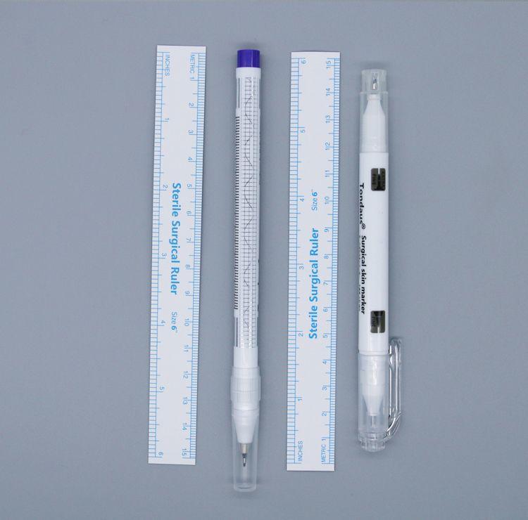 Purple Double Head Sterile Surgical Tattoo Skin Marker