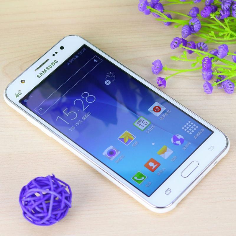 Überholtes ursprüngliches Samsung-Galaxie J5 J500F Mobiltelefon 16GB ROM 1.5GB RAM Viererkern Doppel-SIM Handy 5inch