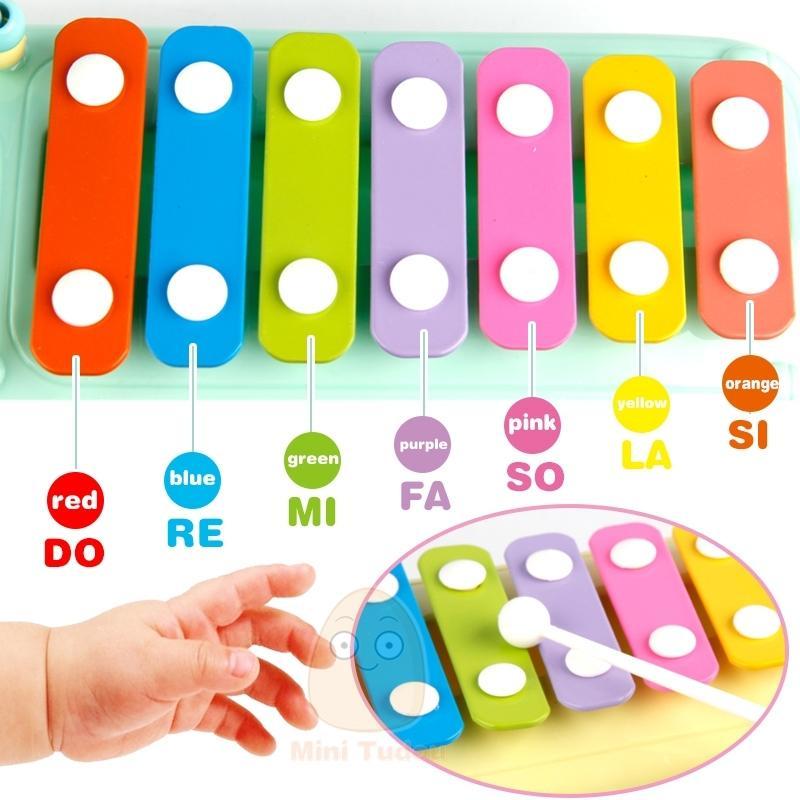 جديد أطفال موسيقى حافلة لعب صك إكسيليفون البيانو جميل الخرز كتل الفرز تعلم الطفل ألعاب تعليمية لCX200608 الأطفال