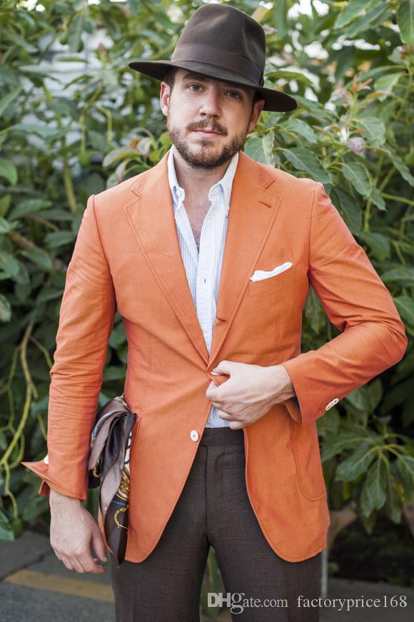 Due pulsanti popolari Groomsmen Notch risvolto smoking dello sposo Groomsmen migliore vestito dell'uomo Mens Wedding Suits b515 sposo (+ Tie Jacket + Pants)