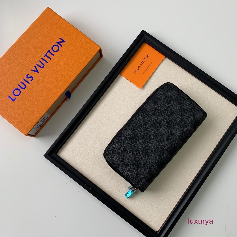 Кожаный бумажник женщин ретро Модное банк Кредитные карты Id карты двойной молнии сумка Совершенная текстура
