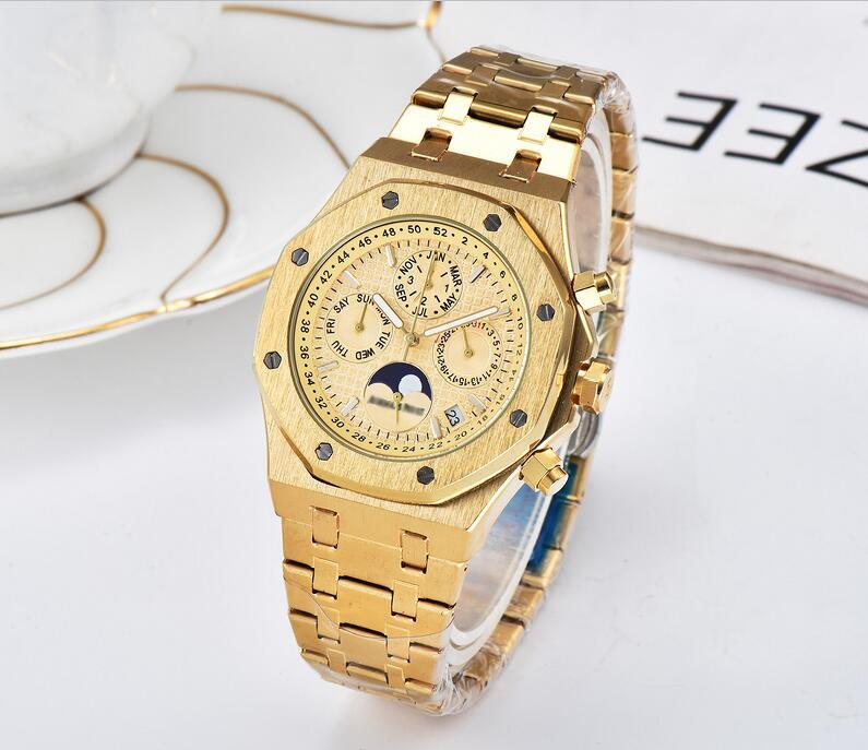 A P ROYAL OAK watch Cal.2385 movement six-pin full-featured top-level automatic mechanical mens designer Watch stainless steel mens Watches