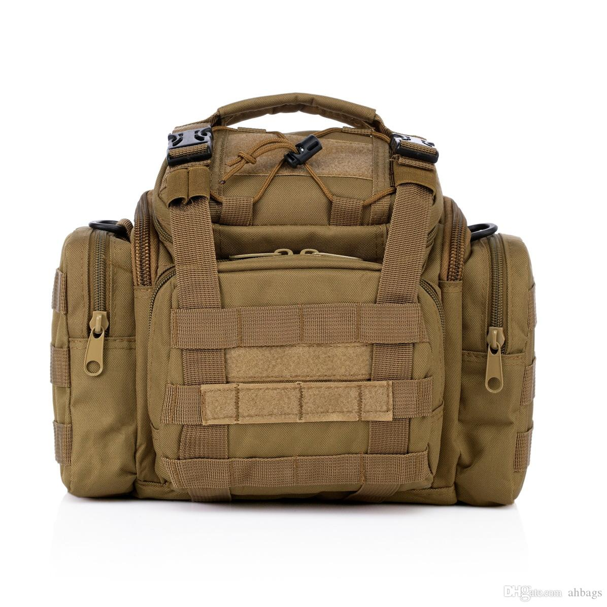 New Multifunctional Tactical Backpack Large capacity outdoor camouflage shoulder bag Tactical External Package Male and female shoulder bags