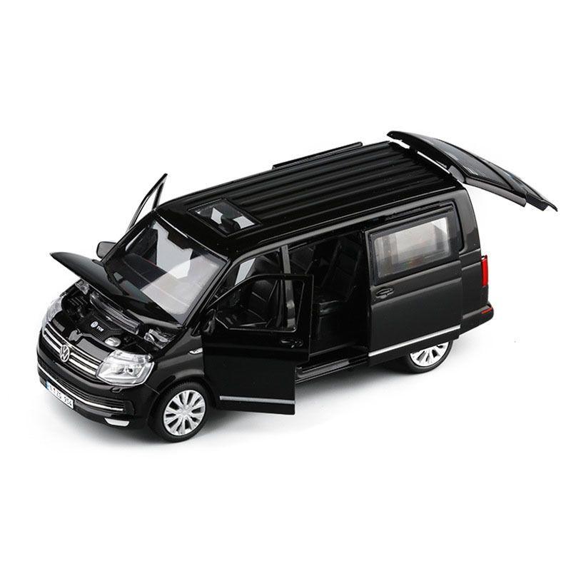 1/32 сплава T6 Bus Автомобили Бизнес игрушки Модель автомобиля Die Cast Metal Casting Классический Статическая игрушки автомобилей для сбора T200110
