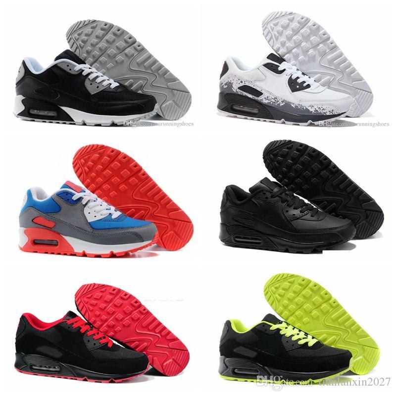 t27 Hot Sale Chaussures de course pour Femmes Hommes Haute Qualité Sport Chaussures Baskets Noir Blanc coussin d'air Chaussures de sport Eur 36-46