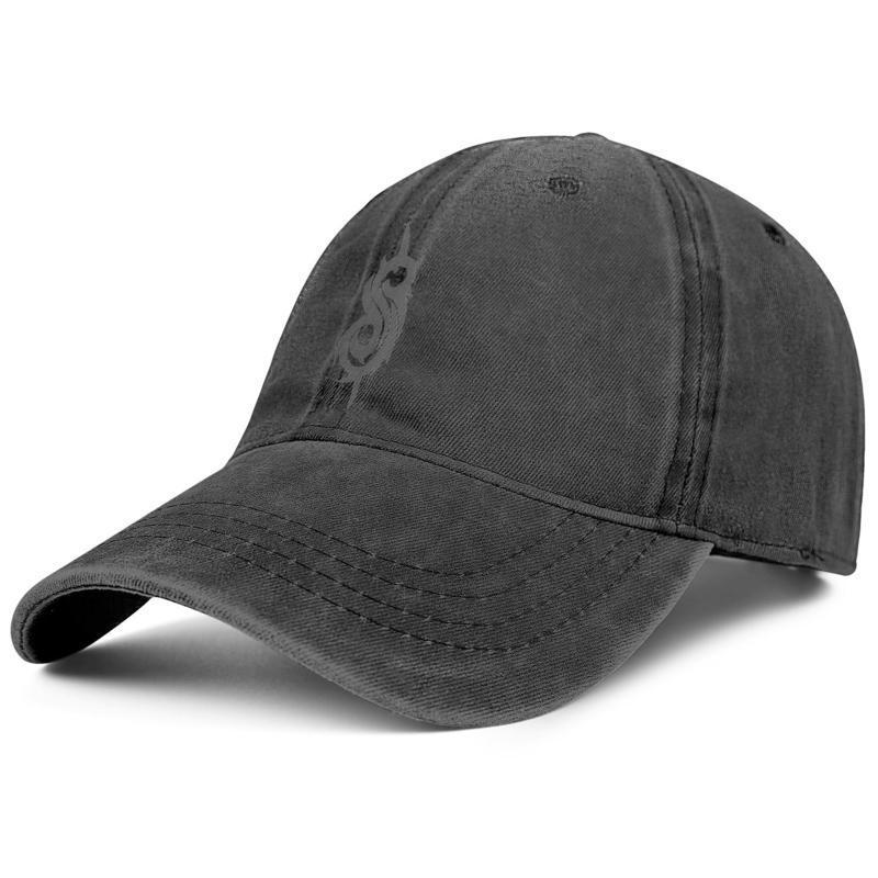 Heavy Metal band Slipknot Musica mens e donne di baseball cap denim design designer originaldesign personalizzato i propri cappelli d'epoca