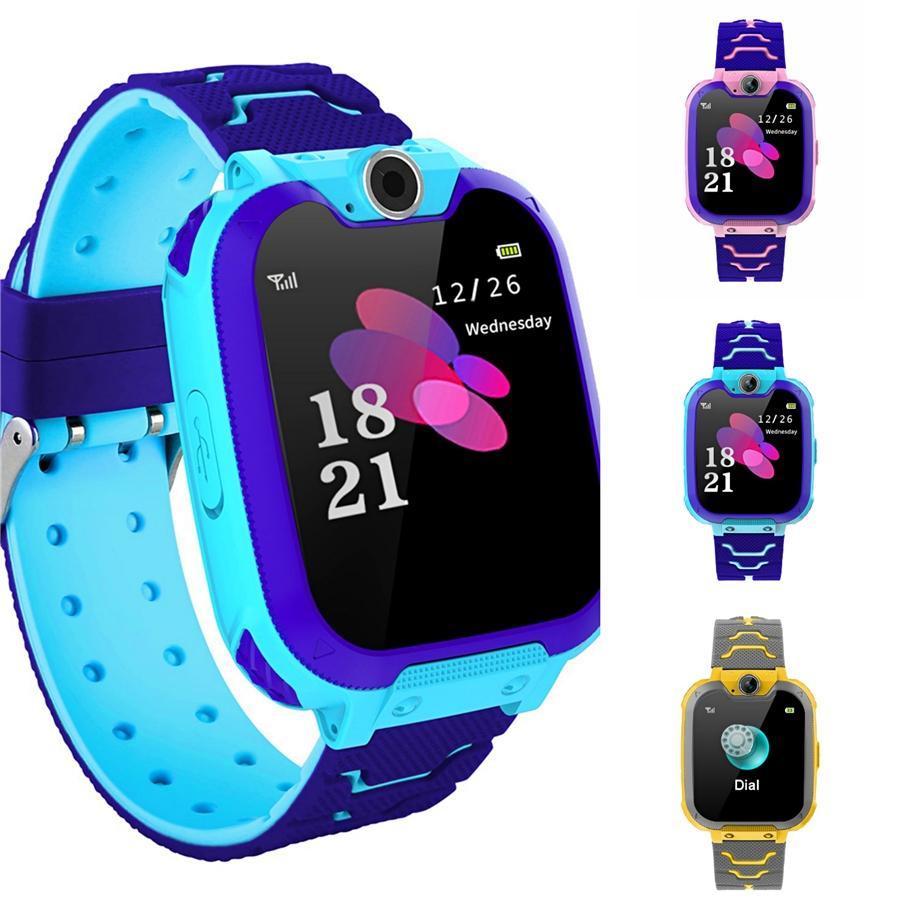 Moda Rapazes Raparigas Crianças Crianças Estudantes Esporte Digital Led Watches New Mens Womens Touch Screen Rubber presente Silicone Relógios # 932