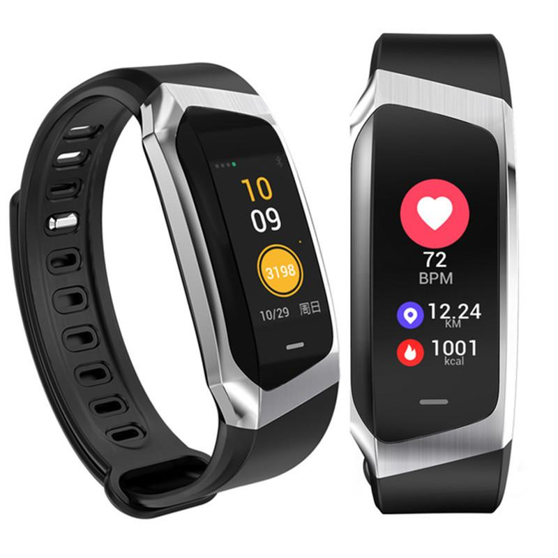E18 Smart Bracelet Blood Pressure Heart Rate Monitor Fitness Activity Tracker smart watch Waterproof Sport Band