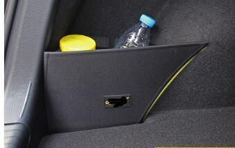 lado de almacenamiento Caja de almacenamiento maletero del coche de la tablilla del deflector para golf 7,5 / 7 accesorios Car Styling 2018 2pcs / set