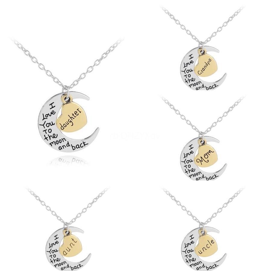 Нержавеющая сталь Письмо персонализированный Подвеска Серебро Золото розовое золото ожерелье A-Z Initial Ожерелье подружкой Женщина ювелирные изделия # 174