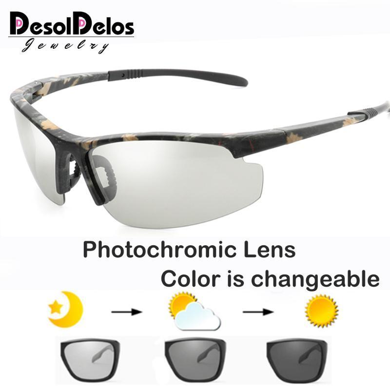 Sol Men Солнцезащитные очки против блики Новые HD фотохромные Солнцезащитные очки Очки UV400 RIMLENT Женщины поляризованные De Gafes Sun 2020 GCWME