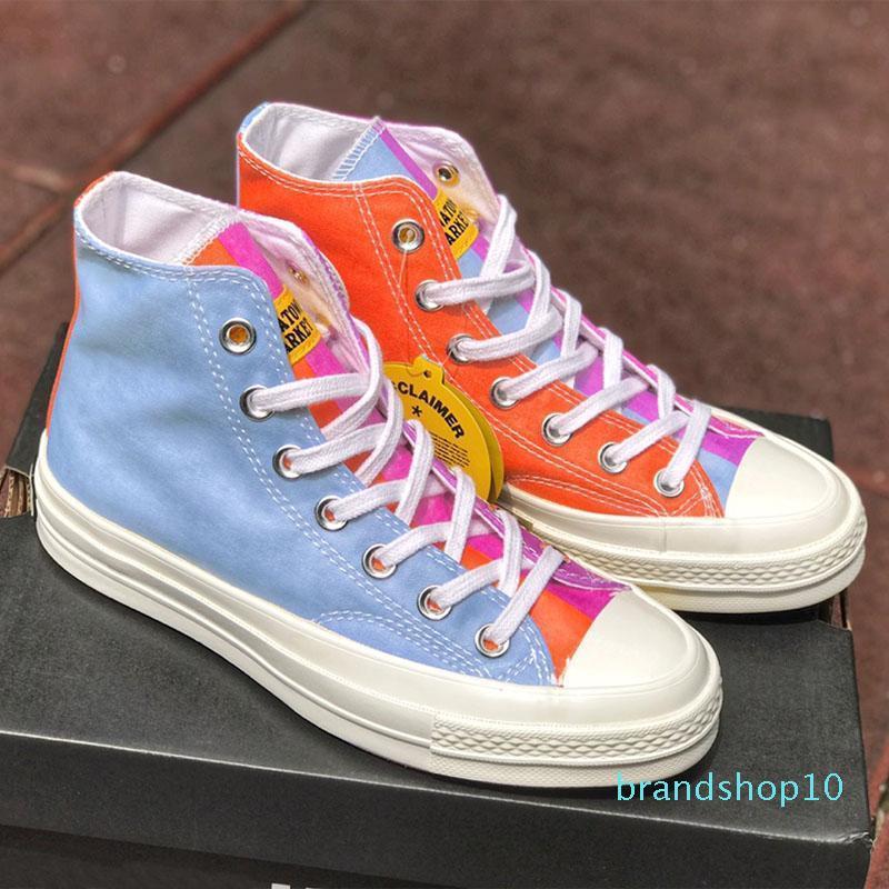 Chinatown marché x Conver Chuck 70 Skate Shoe Chucky Taylors Designer Star Changer la couleur Casual Toile ShoesT04