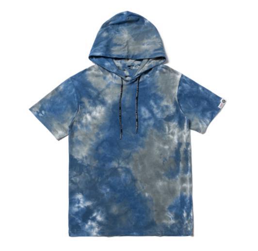 2020 с капюшоном уникальная мода унисекс дизайнер футболка Женская Марка рубашка с коротким рукавом мужская Oversize роскошные o-образным вырезом топы ljz L повседневная 2020502Z