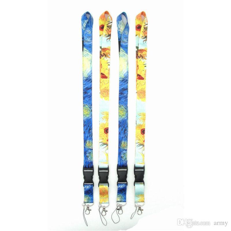 العالمي الحبل الأسود / الأزرق / الأبيض 15 الألوان المتاحة حزام لجميع الهواتف المحمولة HOT SALE STRING NECK STRAP