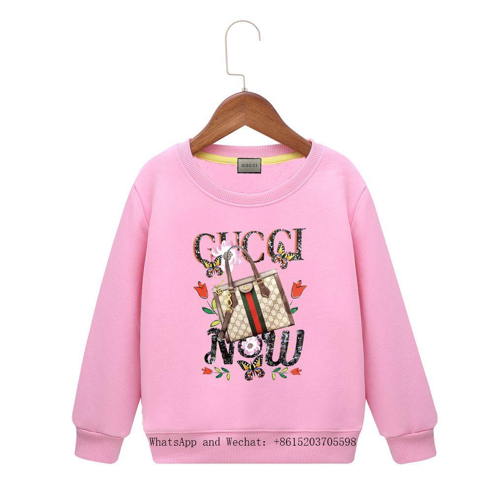 Abbigliamento per bambini Cartoon 2019 Spring New Pattern Maschio Girl Sleeve Head Maglione Colori Hoody Baby Clothing Ragazzi di marca Felpa con cappuccio