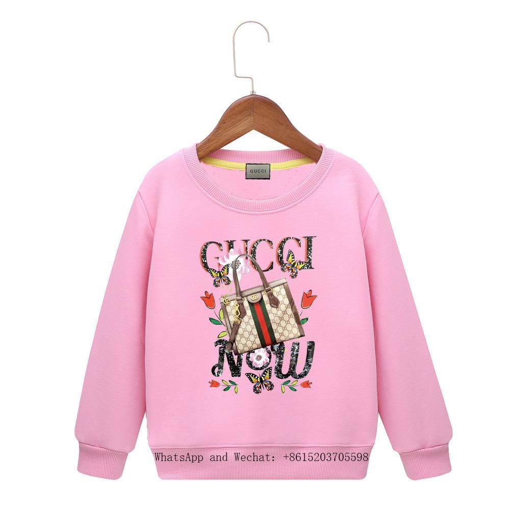 Ropa para niños de Dibujos Animados 2019 Primavera Nuevo Patrón Masculino Chica Manga Cabeza Suéter Colores Sudadera con capucha Ropa para bebés Niños marca Hoodie