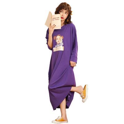 Frauen Lose Nachthemden Nachtwäsche Nachtwäsche Schlafkleid Pyjamas Nachtkleid