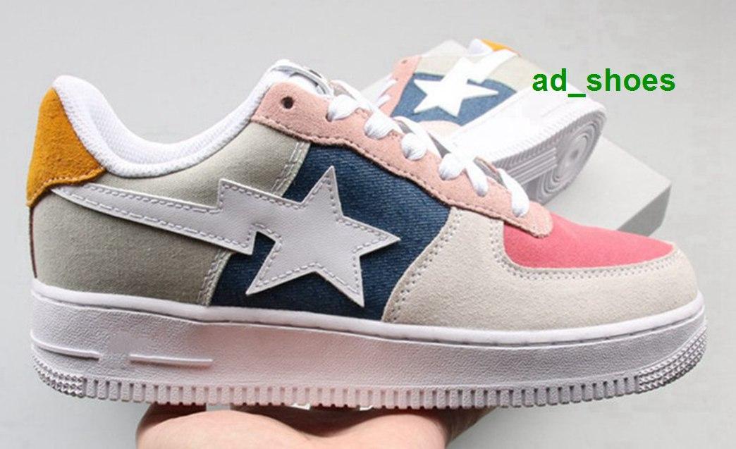 Chaussures hommes chaussures nous taille 12 blanc x rose stocks femmes jaune bapesta entraîneurs des hommes en cours Stockx eur plate-forme de mode vert 46 chaussures de sport