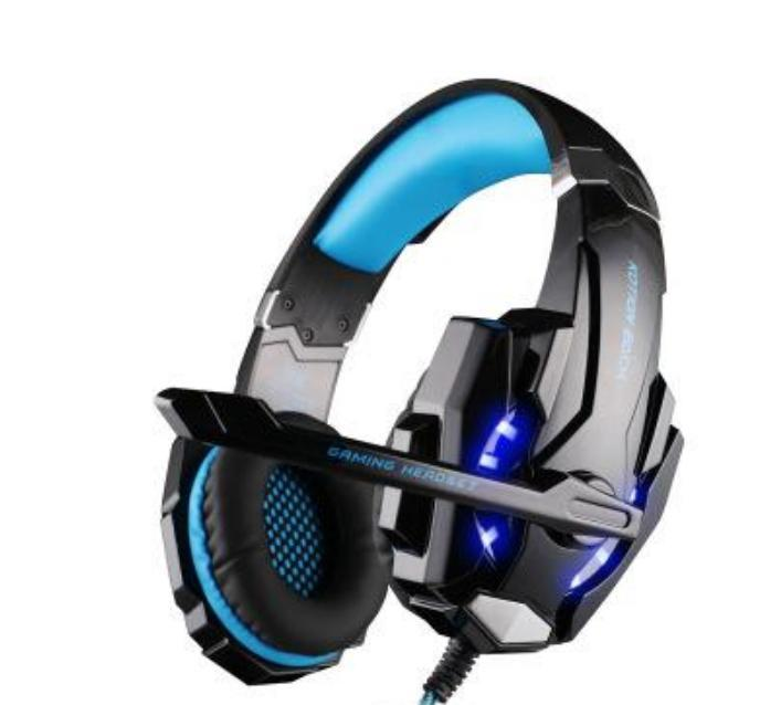Juego G9000 Gaming Headset PS4 auriculares del auricular del juego con el micrófono micrófono para PC portátil PlayStation 4 casque Gamer
