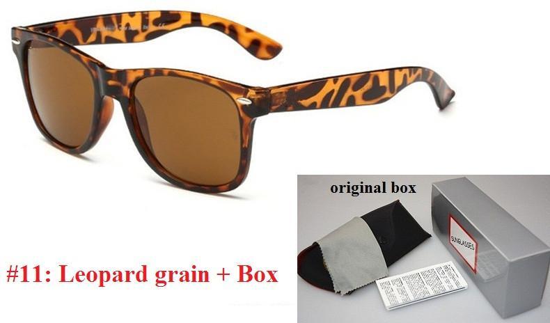 Marca original Designer de Moda Homens e Mulheres Óculos De Sol Proteção UV400 Esporte Vintage óculos de Sol Retro Eyewear Com caixa livre e casos