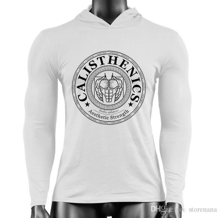 Yeni Spor Giyim pamuk Boş zaman Spor egzersiz salonu Hoodies Tişörtü Moda Unisex Hoodies Baskı Tişörtü