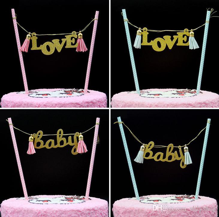Hot Cupcake Toppers Cute Kids Cake Topper Decorations Wedding Baby Shower Birthday Cake Decorations Party Supplies