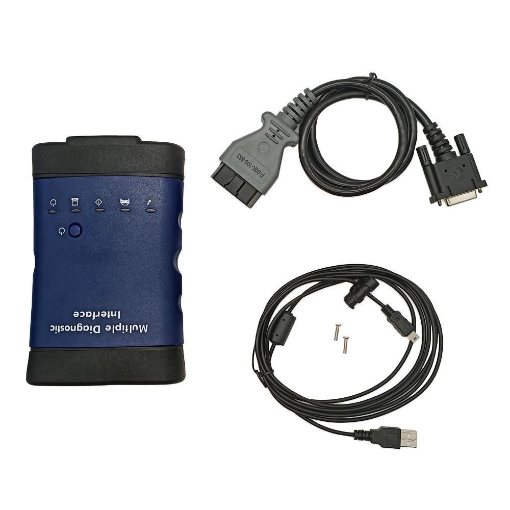 WIFI 카드 OEM 수준 여러 진단 인터페이스 기술 3 진단과 GM MDI 스캐너 및 프로그래밍 도구 + 소프트웨어 HDD에 대한