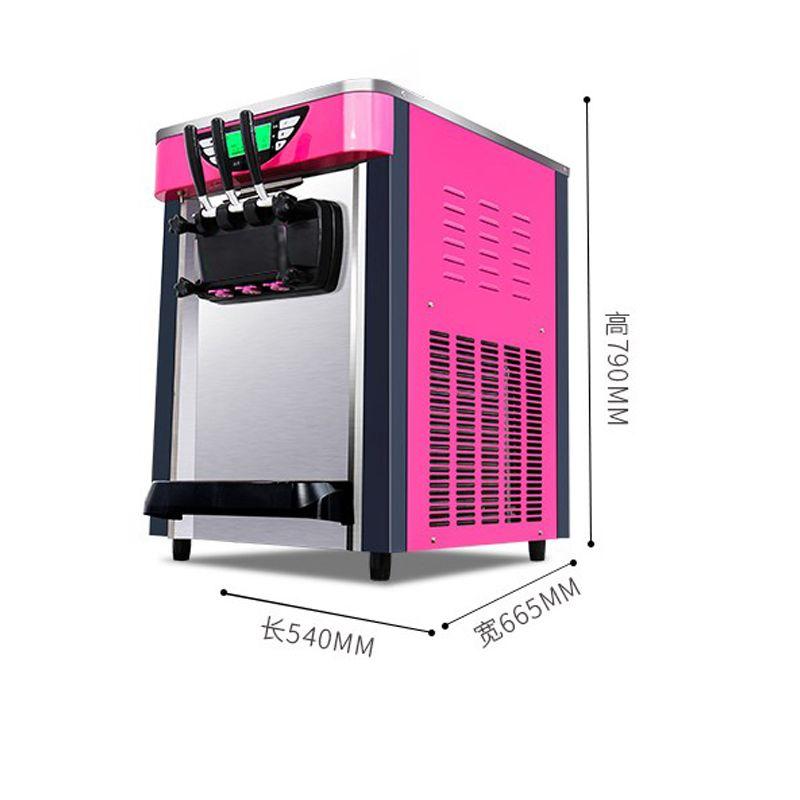 Kommerzielle Softeis-Maschine mit Mix 3 Aromen / CE-Zertifikat heißen Verkauf kommerzielle Eismaschine