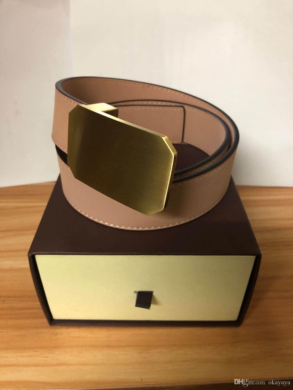 0107 أحزمة مصمم أفضل جودة للأحزمة الرجال حزام الأفعى حزام أحزمة جلدية سيدات الأعمال الكبير الذهب مشبك مع صندوق