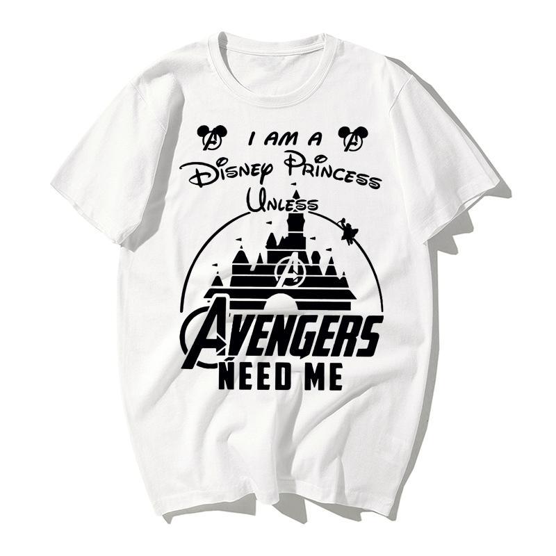 2019 Новая футболка Disco Castle Movie Publisher с тем же узором в стиле популярного короткого рукава World Children's Paradise amuseme
