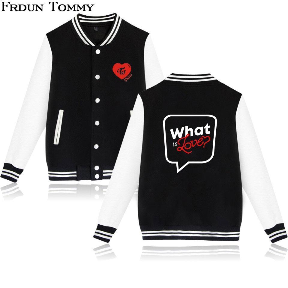 Frdun dos veces chaqueta del béisbol nuevo estilo caliente populares de Hip-Hop de Harajuku Streetwear Moda Otoño Invierno Unisex Chaqueta caliente