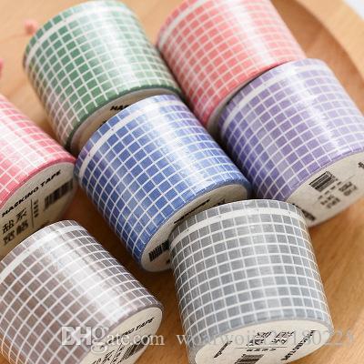 20190623 Grande fita simples DIY diário decoração e papel adesivos 2016