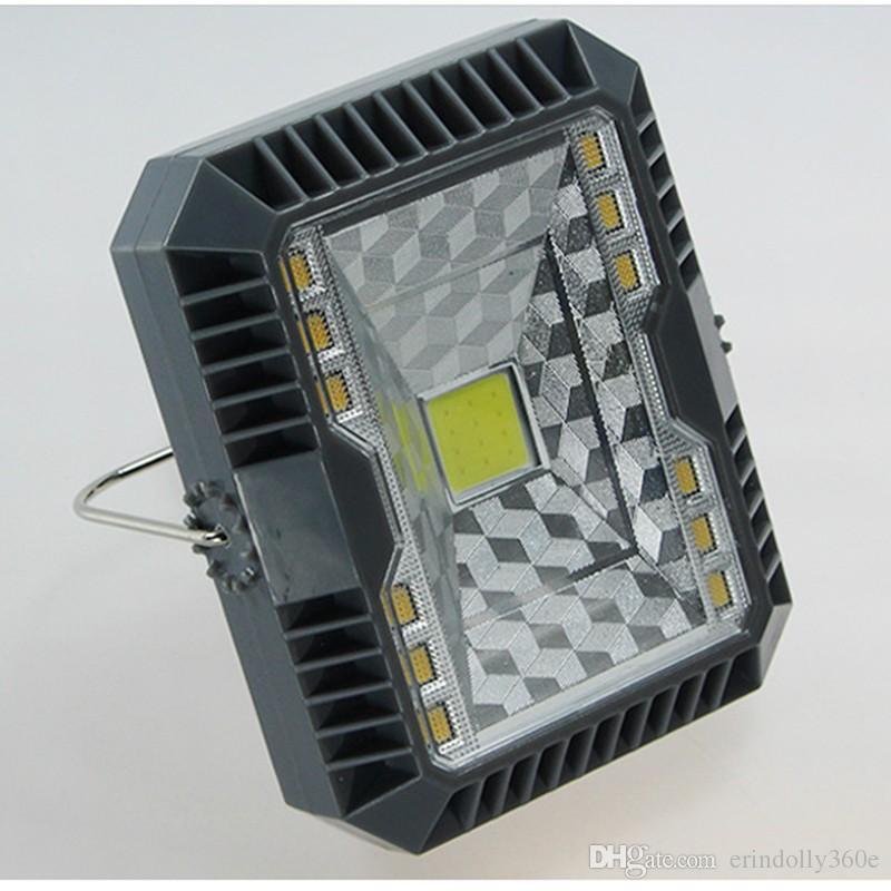 Led-scheinwerfer Outdoor Solar Lampe Camping Flutlicht mit Datenkabel 150lm C0B + SMD Led Flutlicht LED Pool Sicherheit Wandleuchten